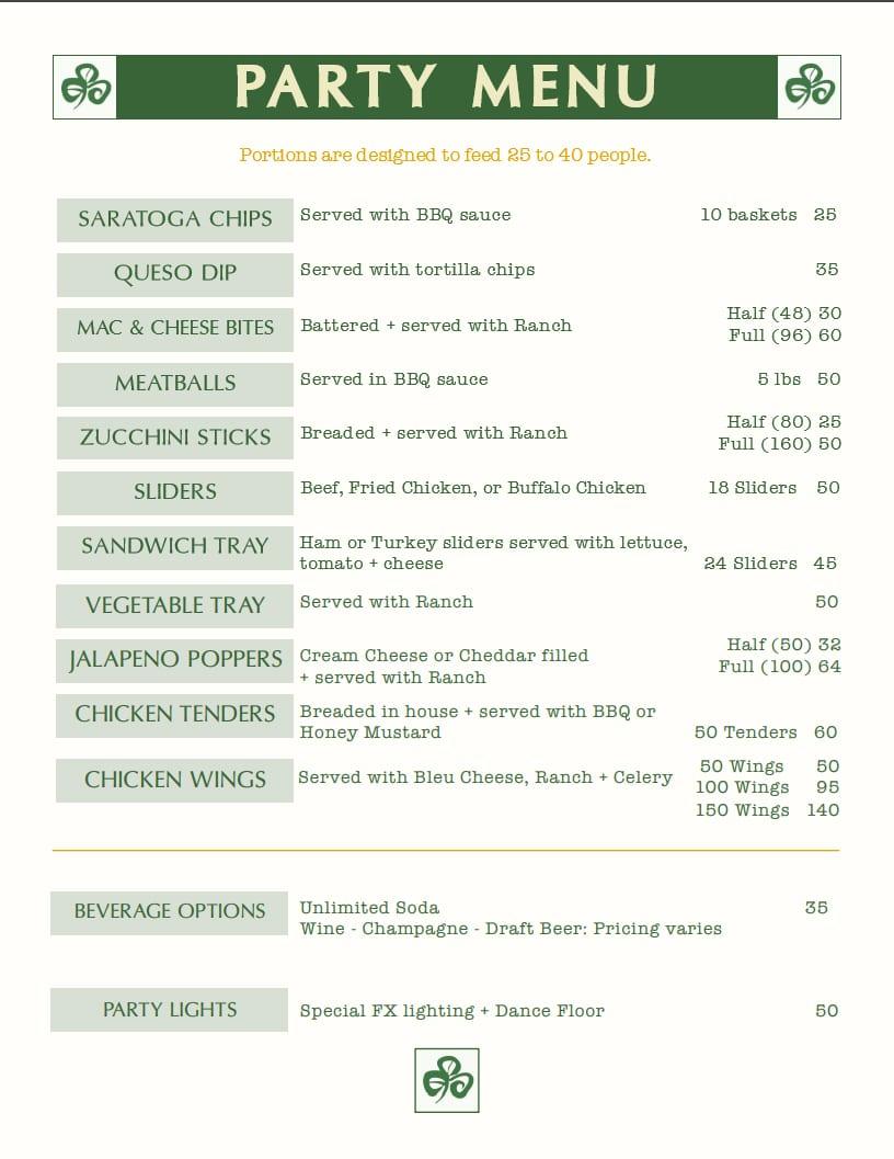 party-menu(m)